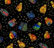 Laurel Burch Cat Fabric
