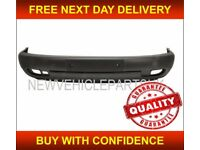 VW TRANSPORTER T4 1997-2003 FRONT BUMPER BLACK WITH FOG HOLES SHORT NOSE ONLY NEW FREE DELIVERY
