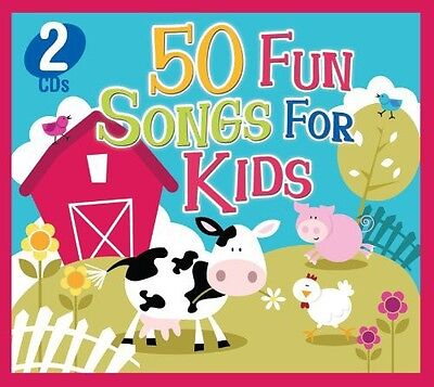 Various Artists - 50 Fun Songs for Kids [New CD] (Fun For Kids)
