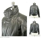 Mens 80s Leather Jacket