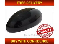 FORD FOCUS 1998-2004 DOOR WING MIRROR COVER BLACK DRIVER SIDE NEW INSURANCE APPROVED FREE DELIVERY
