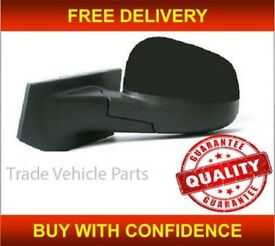 CHEVROLET SPARK 2010- DOOR WING MIRROR HEATED ELECTRIC BLACK PASSENGER SIDE NEW FREE DELIVERY
