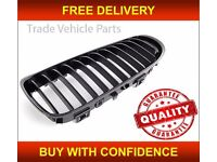 BMW 3 E90 E91 SALOON ESTATE 2008-2012 PASSENGER SIDE KIDNEY GRILLE GLOSS BLACK NEW FREE DELIVERY