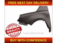 FIAT 500 2008-2015 FRONT WING PRIMED PASSENGER SIDE NEW INSURANCE APPROVED NEW FREE DELIVERY