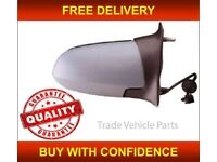 For Vauxhall Zafira wing mirror covers cap Primed 1999-2005 Right Driver side