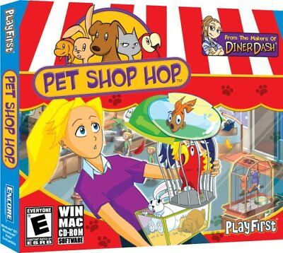 Pet Shop Hop PC Games Windows 10 8 7 XP Computer time management business (Hopping Games)