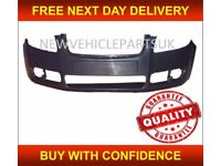 SKODA FABIA / ROOMSTER 2007-2010 FRONT BUMPER MAT-BLACK INSURANCE APPROVED NEW FREE DELIVERY