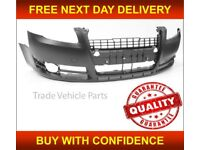 AUDI A4 B7 2004-2008 FRONT BUMPER PRIMED SALOON ESTATE ONLY NOT S-LINE MODELS NEW FREE DELIVERY