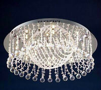 Crystal Crown shaped light ceiling fixture