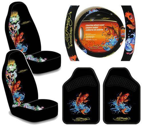 Ed Hardy Seat Cover Set