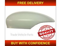 FORD FIESTA 2008- DOOR WING MIRROR COVER PRIMED DRIVER SIDE NEW HIGH QUALITY NEW FREE DELIVERY