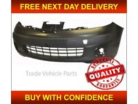 Nissan Micra K12 2003-2005 Front Bumper No Fog Holes New Insurance Approved
