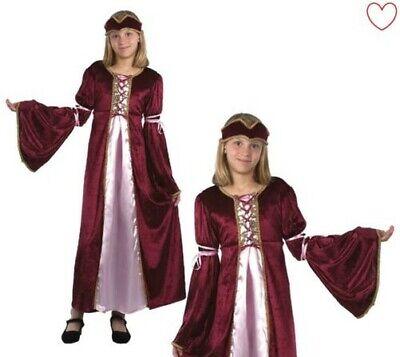 Kinder Mädchen Renaissance Prinzessin Kostüm Maid Kostüm Mittelalter Buch - Renaissance Prinzessin Kinder Kostüm