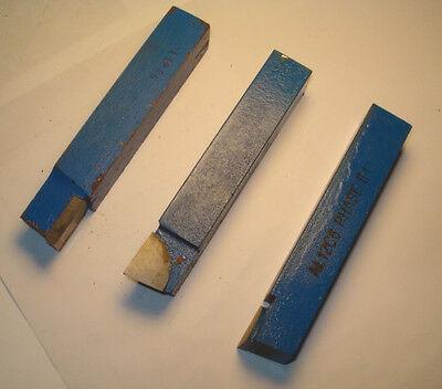 Carbide Single Point Tool Bit Al-12 C6 Square Nose Usa Qty 3 - 4248e1413
