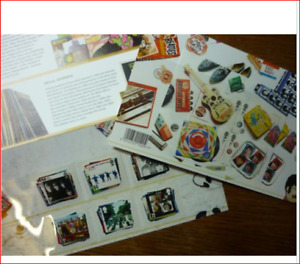 THE BEATLES COMMEMORATIVE ROYAL MAIL 2007 BRITISH STAMPS