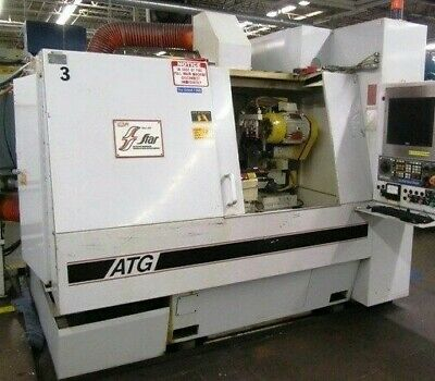 Star Atg-6ac 6-axis Cnc Tool Cutter Grinder Ge Fanuc Control 1999