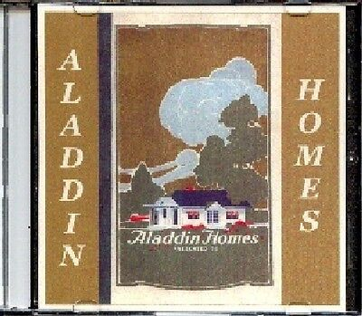 1922 Aladdin Readi-Cut Homes Catalog #33 on CD - Line Drawings, Floor Plans more