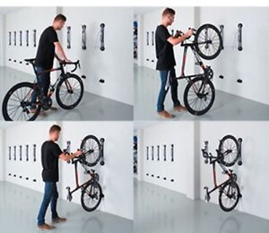 Steady rack bike hanger