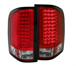 Feux arrières DEL rouge Chevrolet 1500 - 2007- 2013