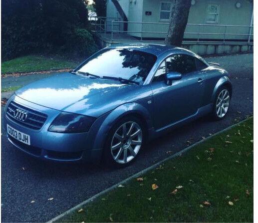 Audi TT 2003 12 months mot