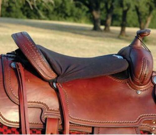 "Cashel Western Foam Tush Cushion - Long 1/2"" or 3/4"" - Black"
