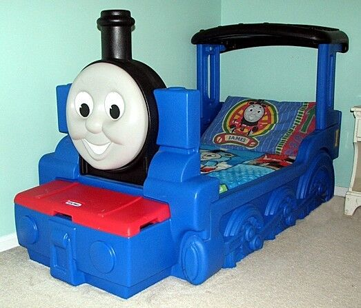 Reduced Price Little Tikes Thomas The Tank Engine Bed