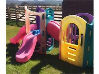 Little tikes 8 in 1 activity playground outdoor slide garden play