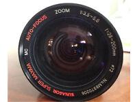 Zoom lens licensed by Minolta