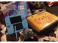 Nintendo 2DS Pokemon Moon Special Edition