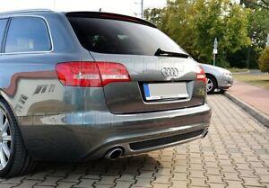 Audi A6 C6 4F Avant Limousine Facelift Diffusor Tuning Heckdiffusor Spoiler