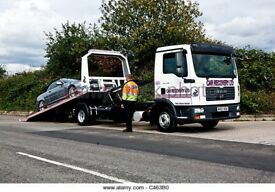 24/7 CHEAP CAR VAN RECOVERY VEHICLE BREAKDOWN TOW TRUCK TOWING BIKE TRAILER CARVAN 4/4 TRANSPORT