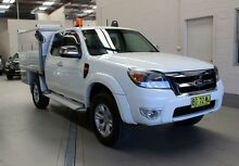 2010 Ford Ranger PK XLT (4x4) White 5 Speed Automatic Super Cab Pick-up Condell Park Bankstown Area Preview