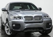 2014 BMW X6 E71 LCI MY1213 xDrive40d Coupe Steptronic Space Grey 8 Speed Sports Automatic Wagon Rozelle Leichhardt Area Preview