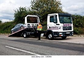 Cheap car van recovery east & north London tow truck transport vehicle breakdown towing scrap cars