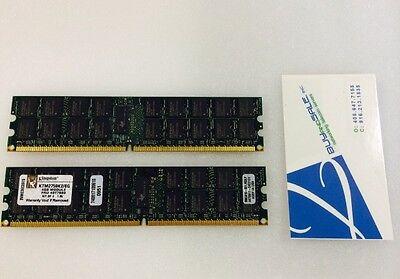 KINGSTON KTM2759K2/8G (2x4GB) IBM FRU 40T7980 DDR2 667MHZ 240 PIN