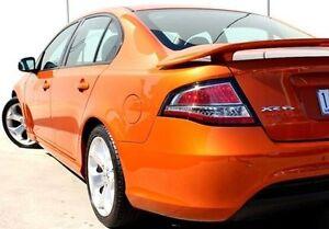 2012 Ford Falcon FG MkII XR6 Turbo Orange 6 Speed Sports Automatic Sedan Berwick Casey Area Preview