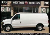 2011 Ford Econoline E150*4.6L*CARGO*A/C*ACC FREE*100% APPROVED!