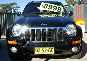 2002 Jeep Cherokee Black Automatic Wagon Lansvale Liverpool Area Preview