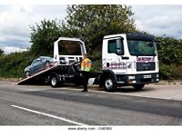 24/7 URGENT CAR VAN RECOVERY 4/4 TRAILER BIKE CHEERY PICKER FORK LIFT DELIVERY