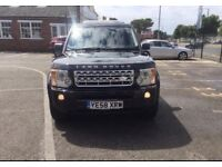 Land Rover Discovery HSE V6 TD Leather Auto 7Seater 58reg