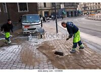 Pavers and ground workers