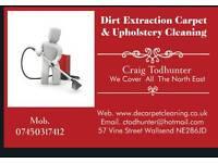 DE Carpet Cleaning *2 x bedrooms only £30 plus free bottle of deodoriser *