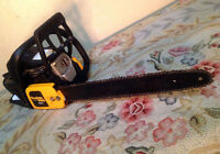"""NEW Poulan PRO GAS  18"""" Chainsaw w/ Case SEE VIDEO"""
