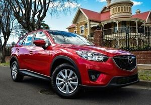 2013 Mazda CX-5 KE1021 MY13 Maxx SKYACTIV-Drive AWD Sport Red 6 Speed Sports Automatic Wagon Medindie Walkerville Area Preview