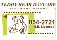 Teddy Bear Daycare , Riverview, has space available