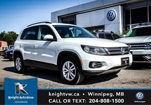 2015 Volkswagen Tiguan AWD w/ Heated Seats 0.99% Financing Avail