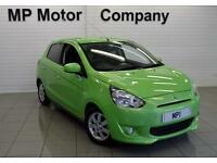 2014 64 MITSUBISHI MIRAGE 1.2 3 5D AUTO 79 BHP STOPSTART 5DR HB, 1 OWNER, 1500M