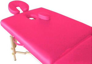New from Dealer PINK OR BLACK massage table / bed / portable