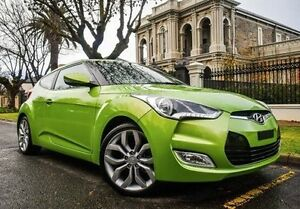 2012 Hyundai Veloster FS2 Coupe D-CT Green 6 Speed Sports Automatic Dual Clutch Hatchback Medindie Walkerville Area Preview
