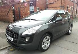 2013 PEUGEOT 3008 1.6HDI ACTIVE FAP EGC AUTOMATIC (FINANCE APPLY ONLINE)